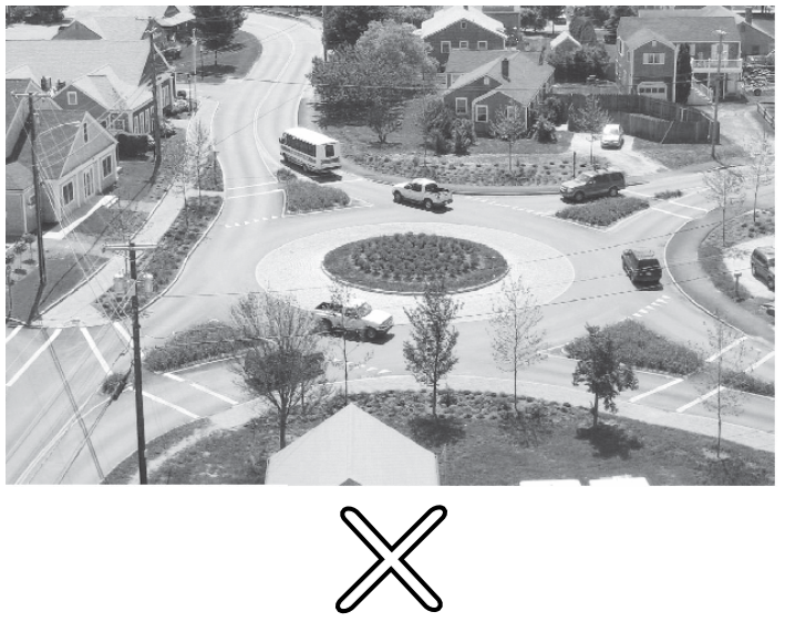 Roundabout & Crossroad, Near the House