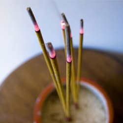 Incense Smudging