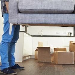 Rearrange household items
