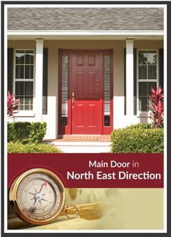 north east facing door