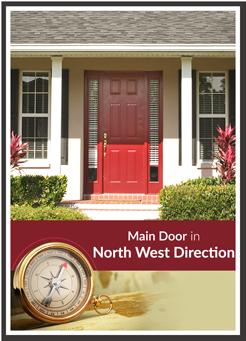 north west facing door