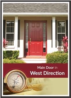 west facing door